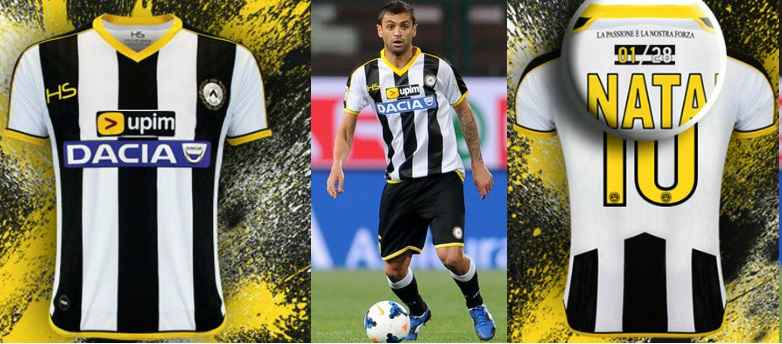 Udinese 2014-2015 home kit released HS Football
