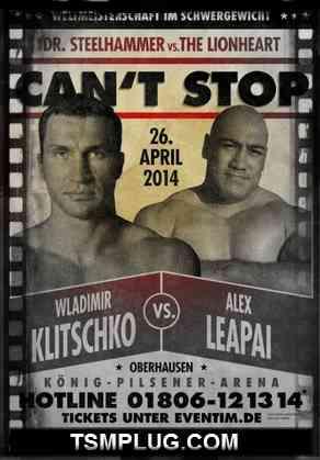 Wladimir Klitschko vs Alex Leapai Live Stream 2