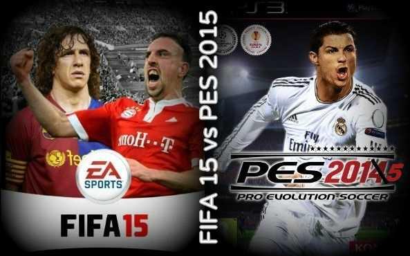 fifa vs pes 2015