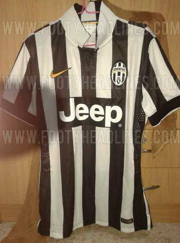 watch d2ee5 bb39e All New Juventus 2014-15 3 Kits Leaked (Home Away 3rd)