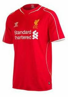 liverpool 2014-15 home kit released