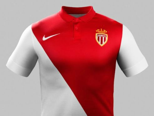 AS Monaco home kit 2014-15 design