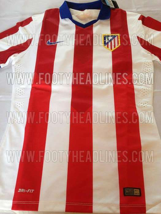 Atletico Madrid 2015 Home Kit