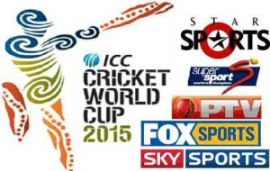 Cricket World Cup 2015 TV Channels Broadcasting