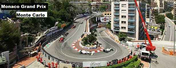 F1 Monaco Grand Prix Highlights