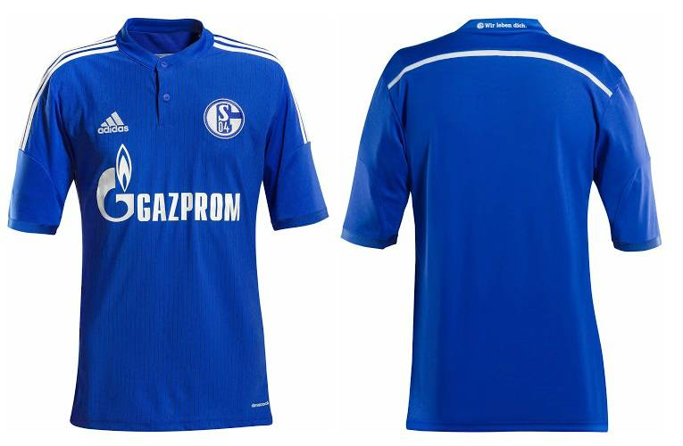 FC Schalke 2014-2015 home kit released