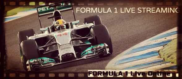 Formula 1 live stream