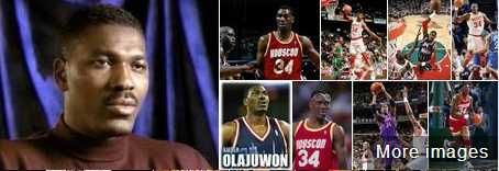 Hakeem Olajuwon best muslim basketball player