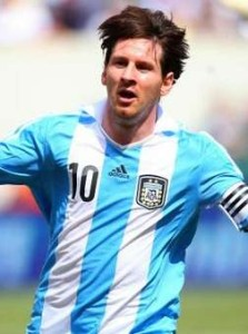 Lione MEssi argentina 2014 world cup