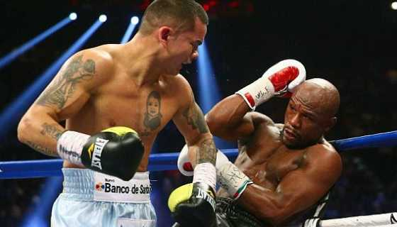 Mayweather beat Maidana