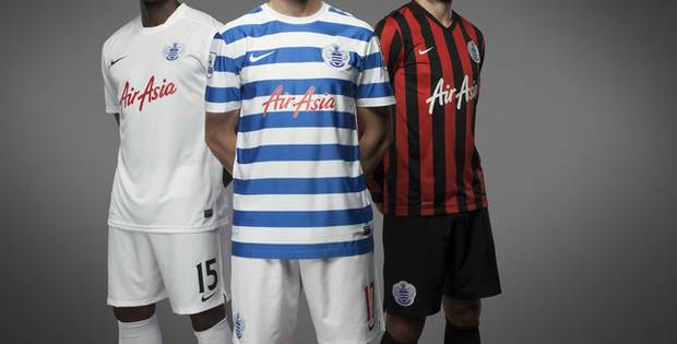 Nike QPR 2014-2015 home away third kits released