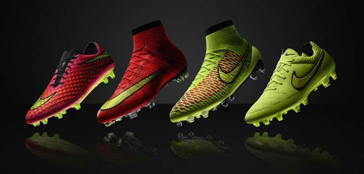 Nike world cup 2014 boots collection