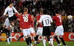 Ronaldo header vs Roma