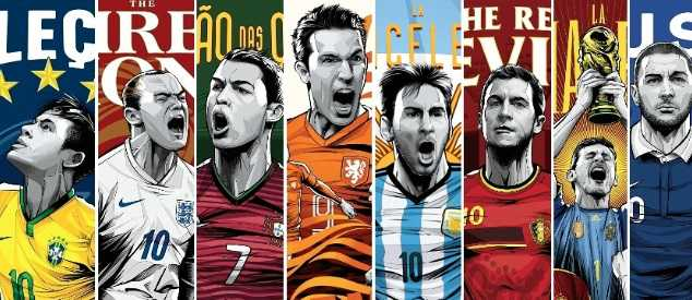World Cup 2014 poster wallpapers