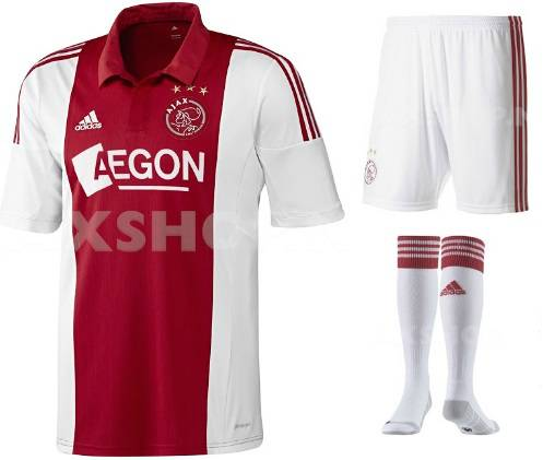 Ajax Home Kit 2014-15 released 1