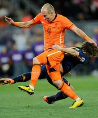 Arjan Robben fastest footballer in world cup history