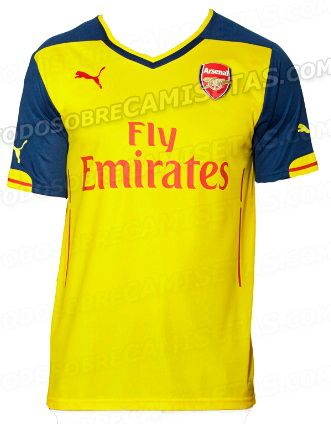 Arsenal away kit 2014-15 leaked