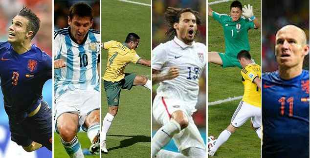 Best goals in world cup 2014 group stages