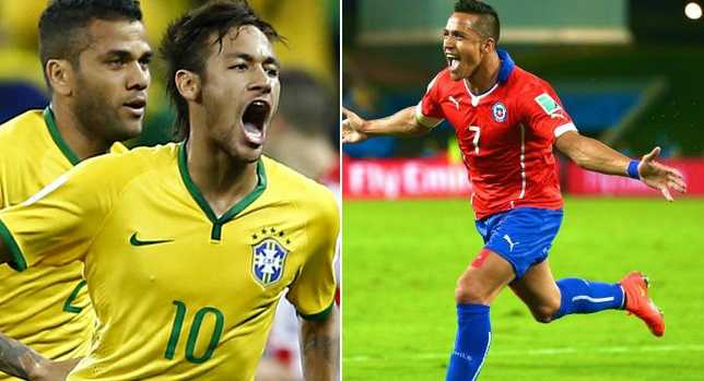 Brazil vs CHile Live Stream