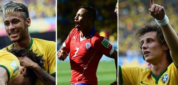 Brazil Chile Highlights