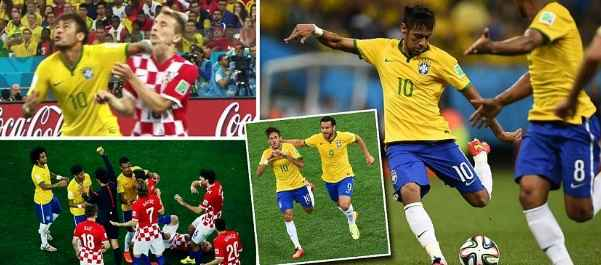 Brazil vs Croatia Highlights 2014 World CUp