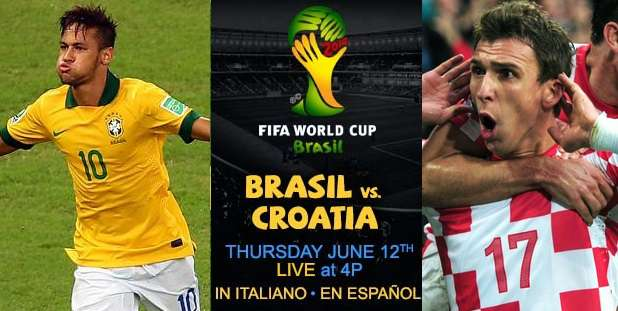 Brazil vs Croatia Live Stream 2014 world cup