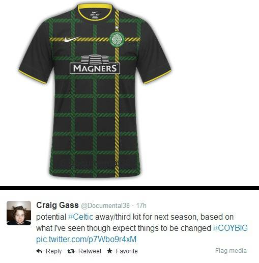 Celtic third kit 2014-15