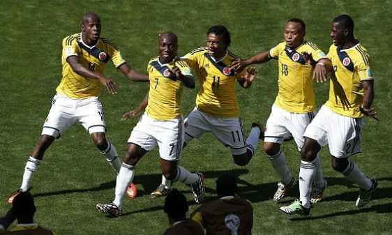 Colombia added 2nd goal after the break