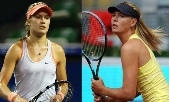 Maria Sharapova vs Eugenie Bouchard live stream