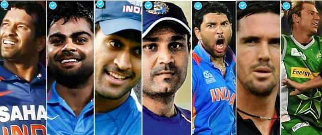 Most Followed Cricketers on social media