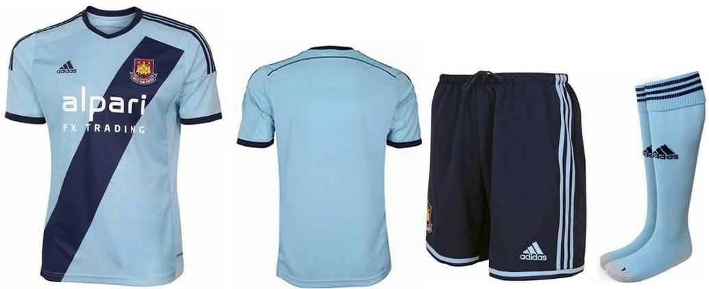 West Ham 2014-15 away kit released