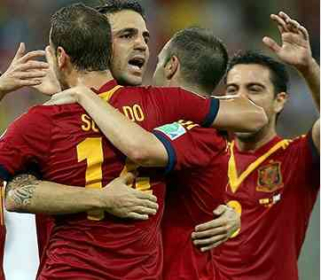 spain 2014 world cup live stream highlights