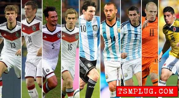 FIFA Golden Ball Award Shortlist