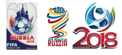 FIFA World Cup 2018 Russia Logos