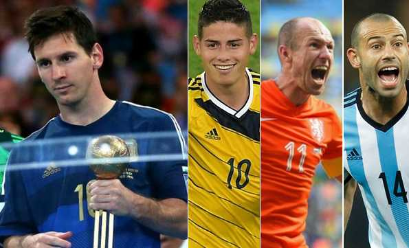FIFA world cup Golden Ball to be decided by fans captains managers