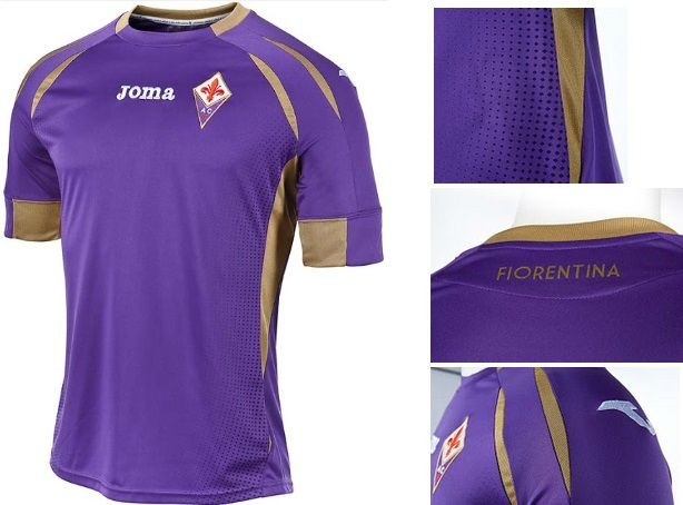 Fiorentina 2014-15 home kit released