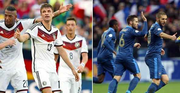 Germany vs France Live Streaming