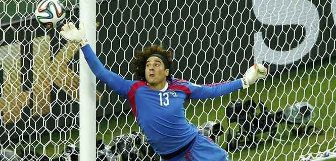 Guillermo Ochoa best keeper in world cup