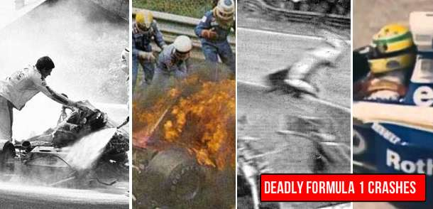 Most Shocking Formula 1 Crashes in History