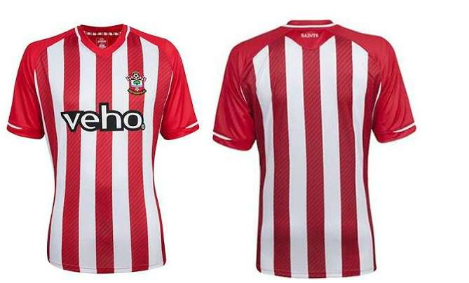 Southampton 2014-15 home away kits