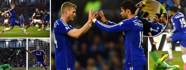Chelsea vs Burnley Highlights 2014 premier league match
