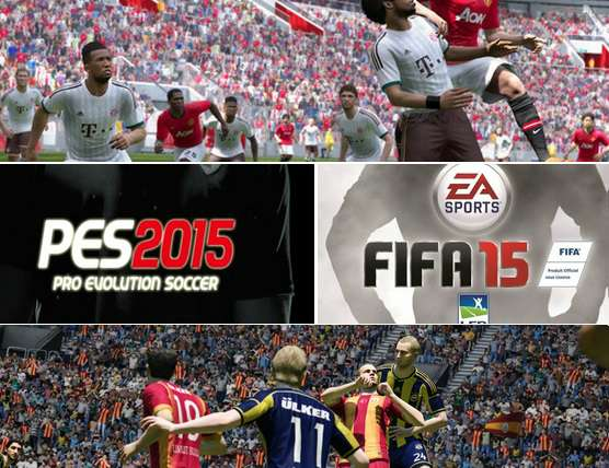 FIFA 15 vs PES 2015 which is better game