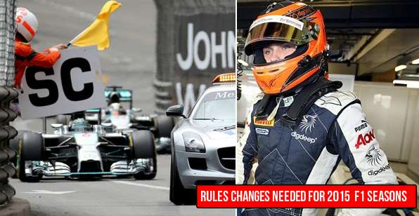 Formula 1 Rules Changes needed in 2015 season 2