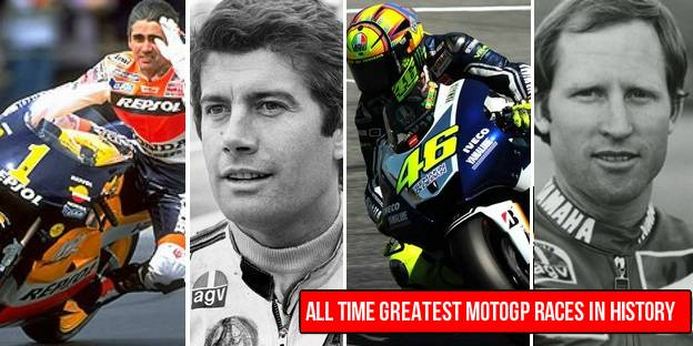 Greatest MotoGP racers of all times