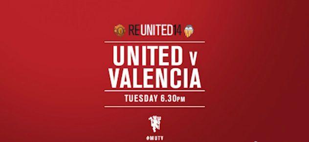 Manchester United vs Valencia Live Stream