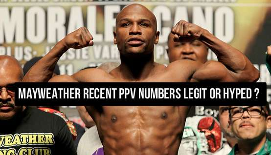 Mayweather PPV numbers are on the decline