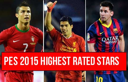 PEs 2015 highest rated players