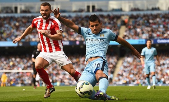 man city vs Stoke City Highlights