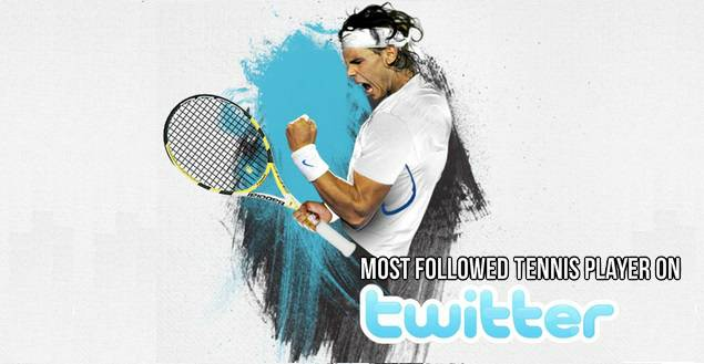 most followed tennis players on social media