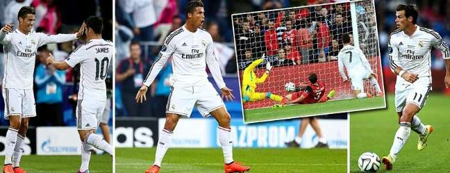 real madrid vs sevilla highlights 2014 super cup match